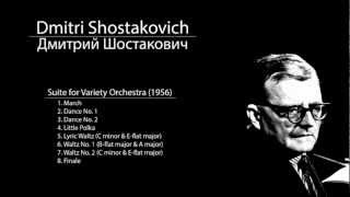 Shostakovich - Suite for Variety Orchestra - 7. Waltz No. 2 (C minor & E-flat major)