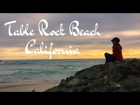 Table Rock Beach - Laguna Beach, California | USA | travel vlog | chillystudio