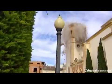 Southern Spain devastated by earthquake