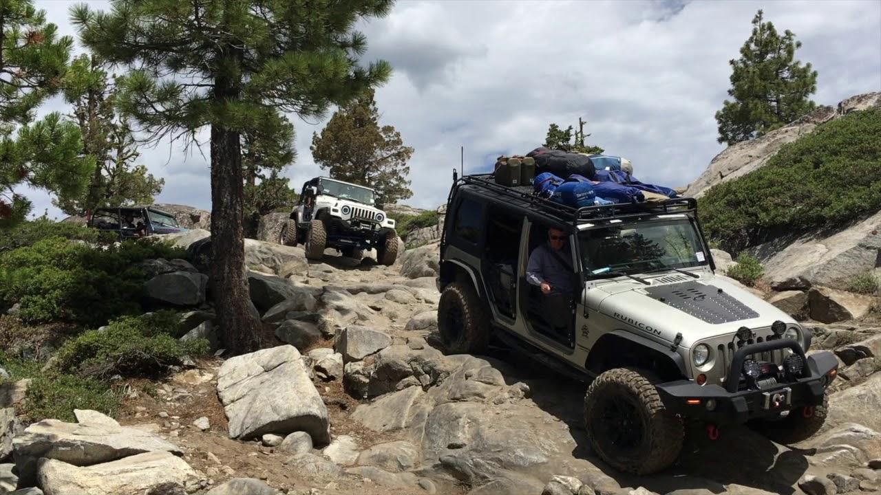 Rubicon Trail Jeep Jamboree 2019 Youtube