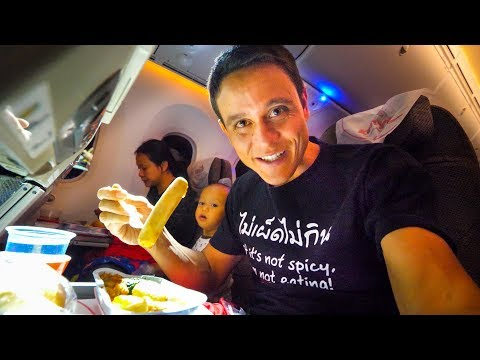 Kenya Airways FOOD REVIEW - Bangkok to Nairobi to Accra | Af