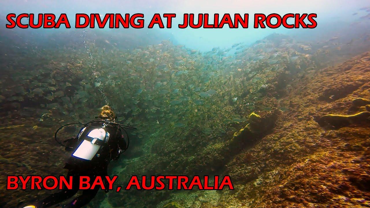 Scuba diving at julian rocks byron bay australia youtube - Dive byron bay ...