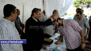 بالفيديو والصور.. محافظ كفرالشيخ يُكرم فريق كرة «الصالات» لصعوده للممتاز