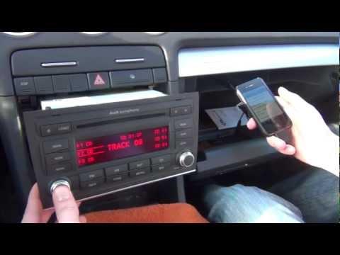 GTA Car Kits - Audi A4 S4 Symphony 2006 2007 2008 iPod, iPhone, iPad and AUX adaptor installation