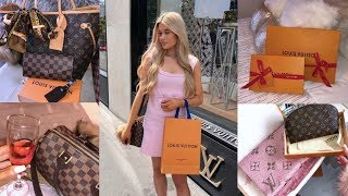 my Louis Vuitton collection,updates + tips to store & clean