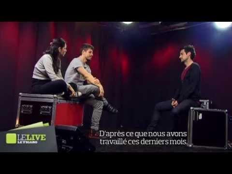 Rodrigo y Gabriela - Interview par Antoine Daccord - Le Live