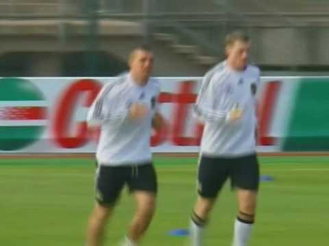 FIFA World Cup 2010 - Lucas Podolski talks about Germany beating critics