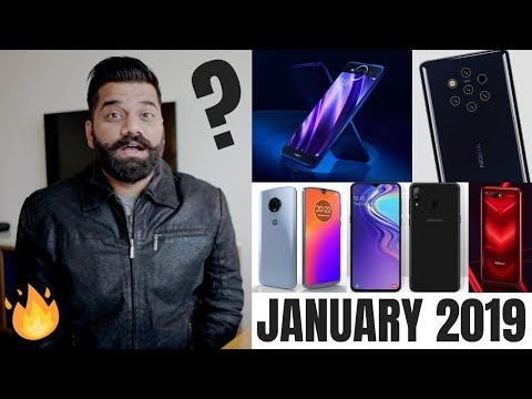 Top Upcoming Smartphones - January 2019 🔥🔥🔥 Mp3