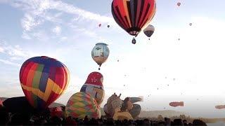 International balloon festival starts in Leon, Mexico