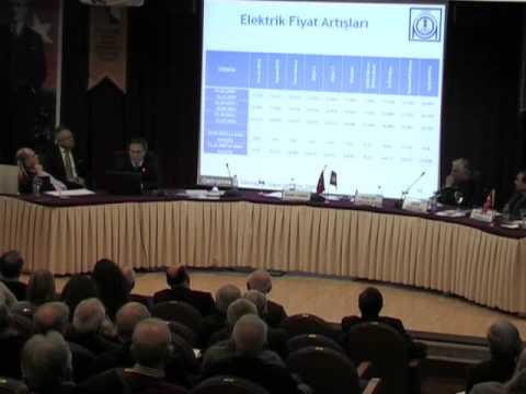PANEL- ÇEVRE VE ENERJİ- ANKARA ŞUBESİ 12.01.2013