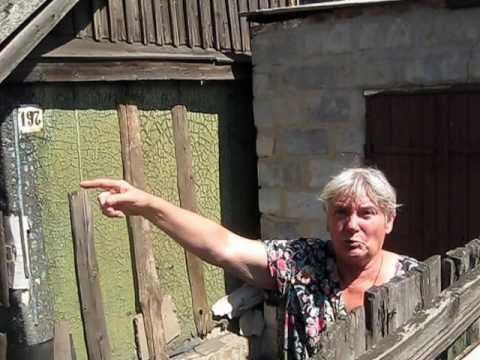 Видео: Жители Марьинки рассказывают о ночных обстрелах