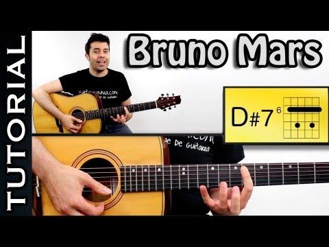 Como tocar The Lazy Song - Bruno Mars en guitarra TUTORIAL COMPLETO  FACIL!