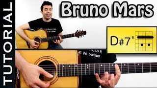 Como tocar The Lazy Song - Bruno Mars en guitarra TUTORIAL COMPLETO  FACIL!