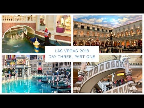 Las Vegas Vlog - March 2018 - Day 3 - Part 1 - Exploring the strip, Venetian & Caesar's Palace