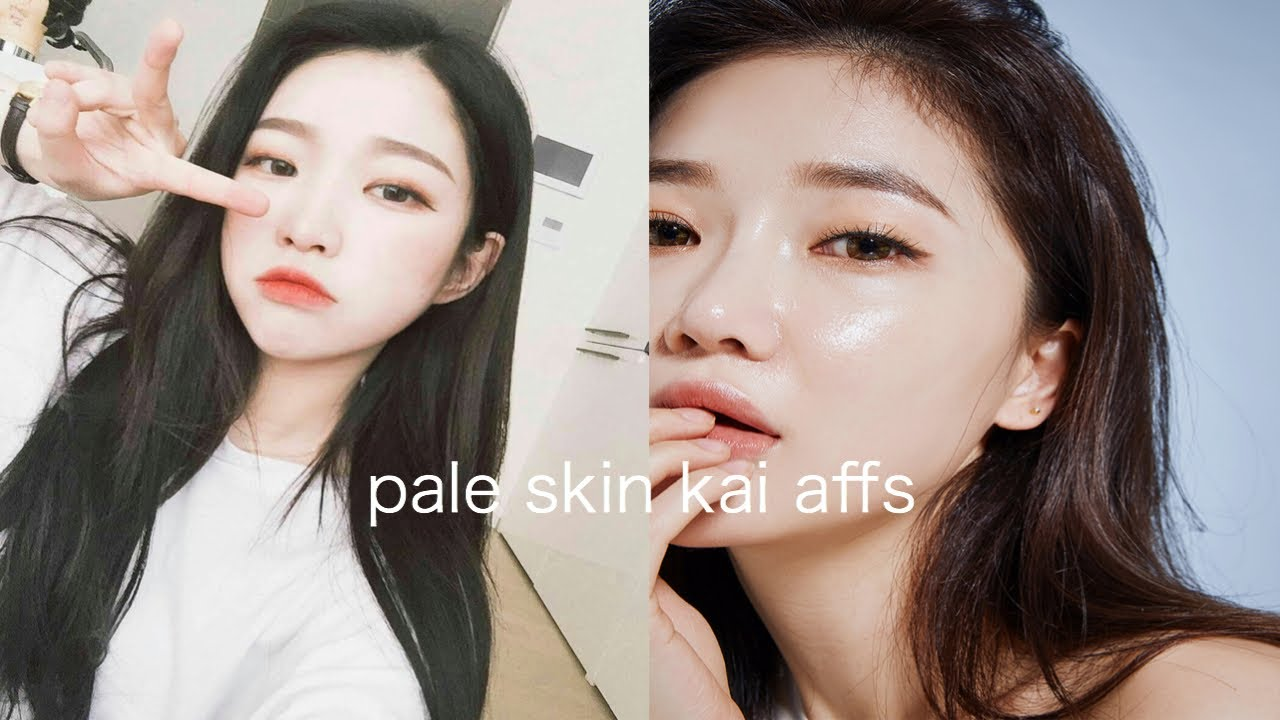 We have a pale skin fetish