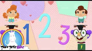 Fun Counting Medley 4 kids | Numbers Song | Balloons  | Sing-A-long | Learn Numbers | TinyTotzKidz