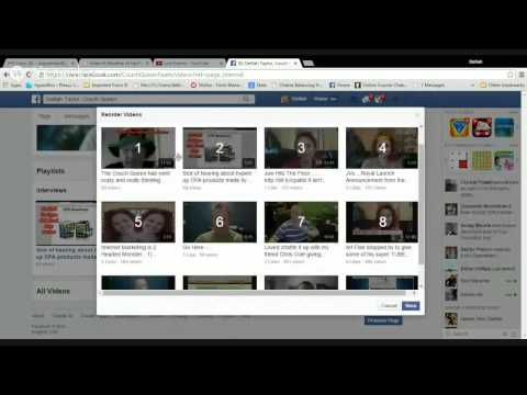 10   Creating Facebook Video Playlists