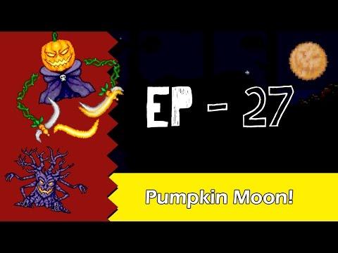 Pumpkin Moon - Terraria [EP 27] Pt Br