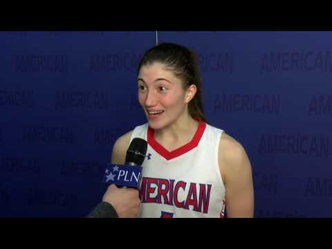 @AU_WBasketball Postgame Interview - Emily Fisher (3/6/2019)