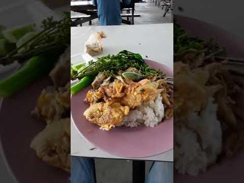 กินข้าวโรงอาหารโรงงาน