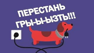 Как отучить щенка грызть провода и все остальное нужное ))?