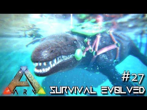 ARK: Survival Evolved - MOSASAURUS TAMING & DEEP SEA LOOT CRATES !!! - SEASON 3 [S3 E27] (Gameplay)