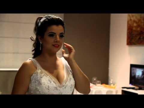 Trailer de Casamento - Tamires e Leandro - Santuário se Santa Teresinha Taubaté 19/12/2015
