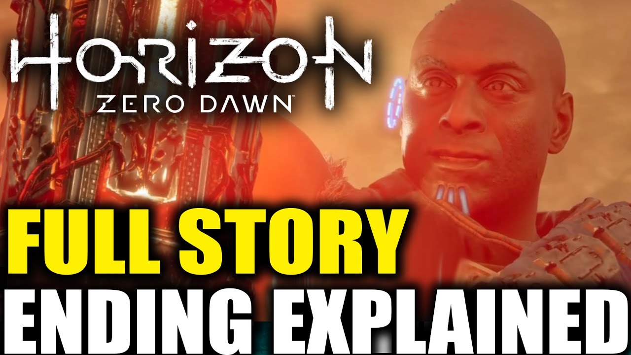 Horizon Zero Dawn Story