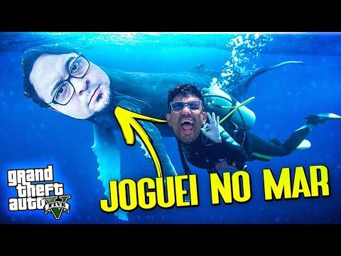 Joguei O Gordox No Mar - GTA (Ep.14)