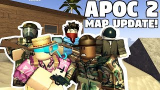 APOCALYPSE RISING 2 - KARTEN-UPDATE!! | FUNNY MOMENTS FT. GUSMANAK (ROBLOX)
