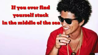 Count On Me- Bruno Mars (lirik)