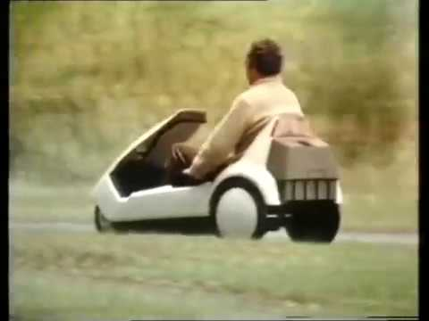 Sinclair C5 (original TV advert)