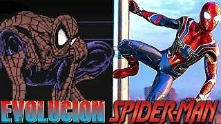 La evolución de los juegos de Spiderman (1982-2018)