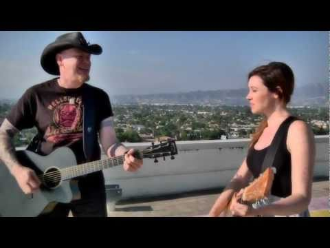 Stop Draggin' My Heart Around - Katie Cole and Jason Charles Miller - Covers on the Roof #18