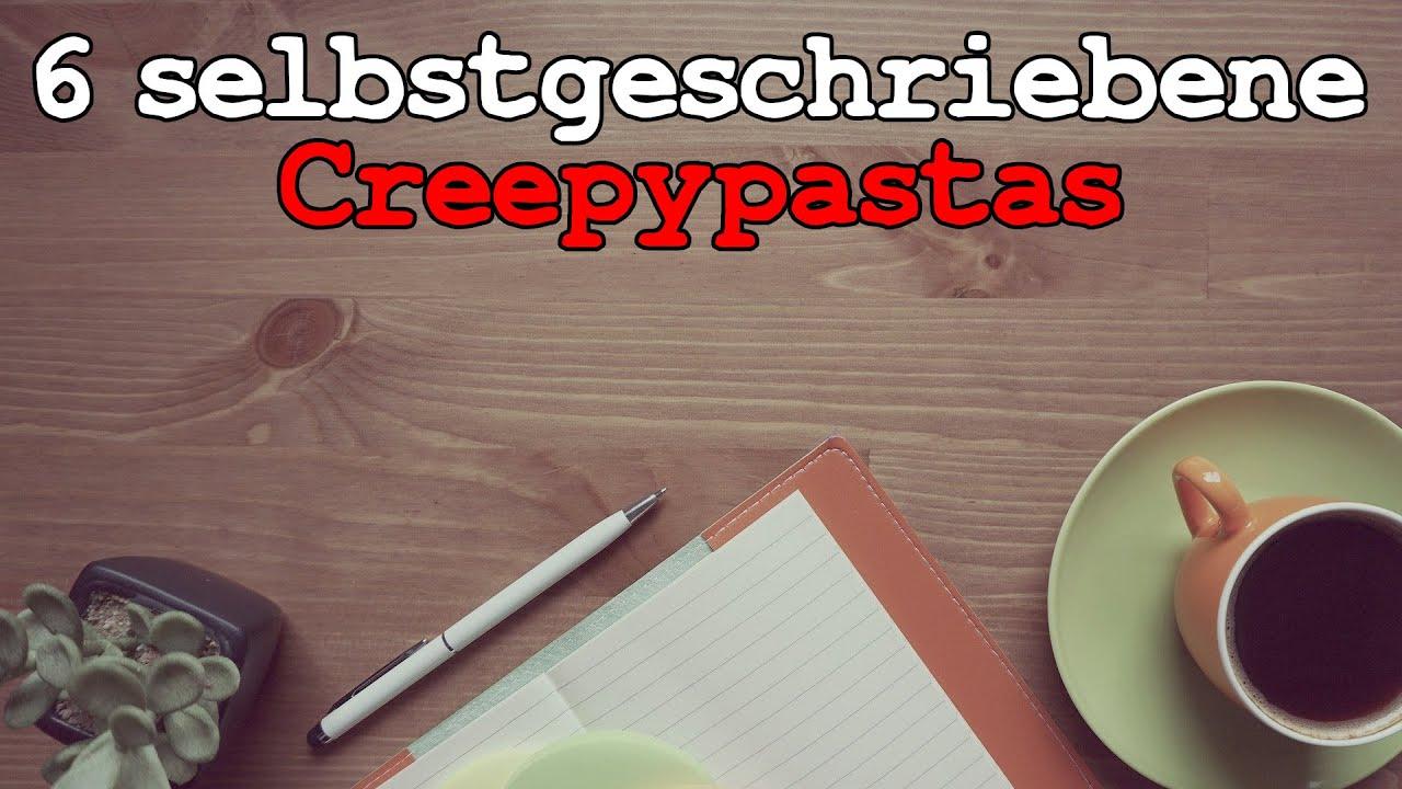 6 selbstgeschriebene Horrorgeschichten | Creepypasta Compilation German