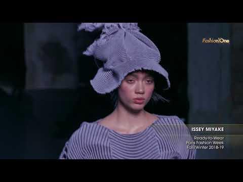 ISSEY MIYAKE Paris Fashion Week Fall/Winter 2018-19