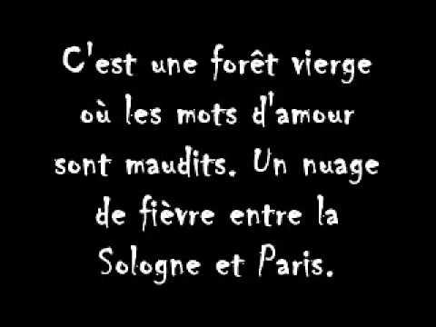 Là où je t'aime  Didier Barbelivien    Paroles 360p