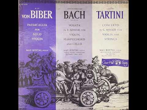 Max Rostal - von Biber: Passacaglia For Solo Violin