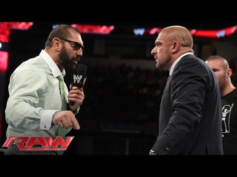 Batista quits WWE: Raw, June 2, 2014