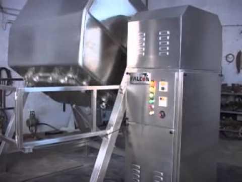 Octagonal Blender - Batch Mixing Machine, Powder/Granules Mixer