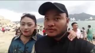 Vinh Râu du lich  đảo Hòn Chồng toàn dân Trung Quốc