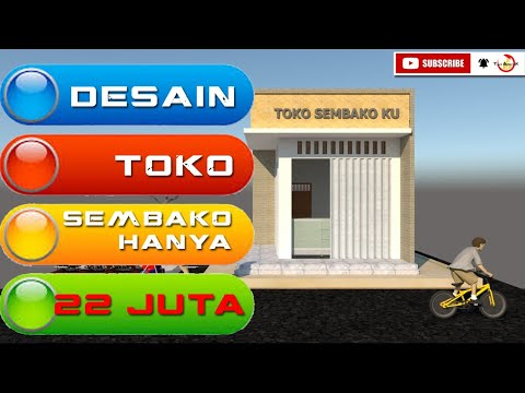 Desain Toko Sembako Minimalis   Warung Minimalis Murah ...