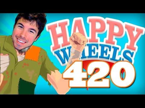 """HAPPY WHEELS: Episodio 420 """"SI ME LO PROPONGO...!!"""""""