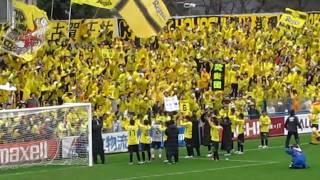 2010.3.7 日立柏サッカー場(柏vs大分)にて.