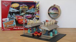 Gambar cover Disney Cars: Flo's V8 Café Playset - Radiator Springs  🚙