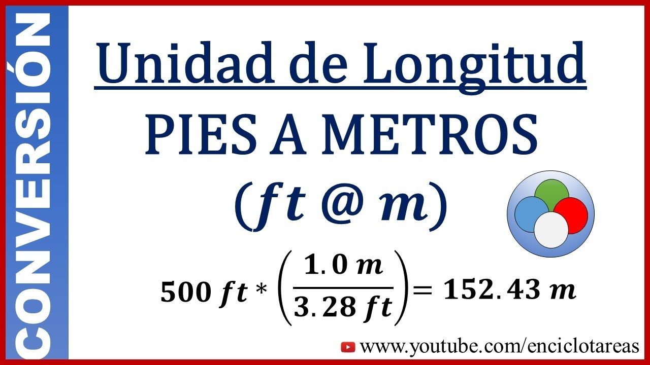 Pies A Metros Cuadrados Convert Feet To Meters Ft To M