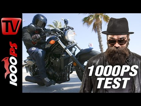 1000PS Test - Honda Rebel 2017 - 45 PS, 145% Spass