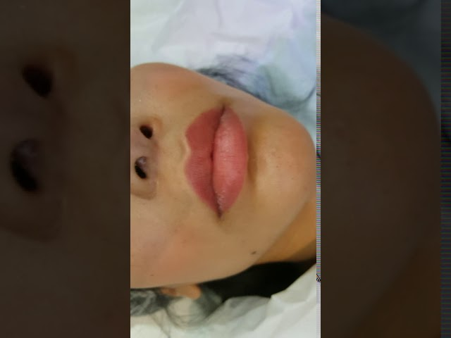 Asian Lips Colour Warm up Adjustment PMU Cosmetic Tattoo by El Truchan @ Perfect Definition