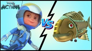 Hindi Kahaniya| Vir: The Robot Boy|Hindi Cartoon Video|Moral Stories for Kids|Vir Vs Robotic Piranha