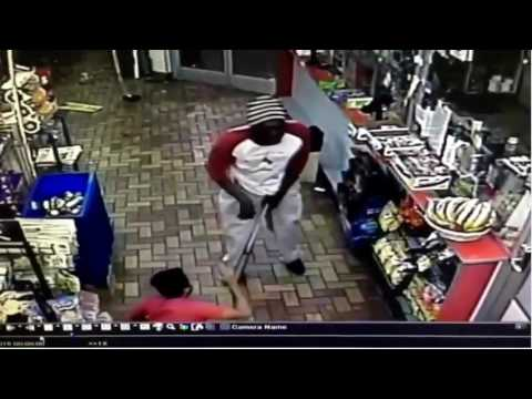 Black man beats store owner with bat    and other New York stories